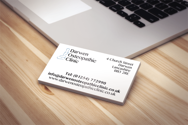 DarwenOsteopathyBusinessCards